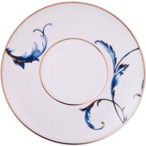 Купить Чайный набор Арти М 264-780 на 6 персон (12 предметов) 240 мл цвет белый/синий
