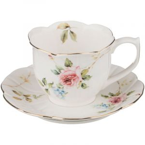 Купить Чайный набор Арти М 590-199 на 6 персон (15 предметов) цвет мультиколор