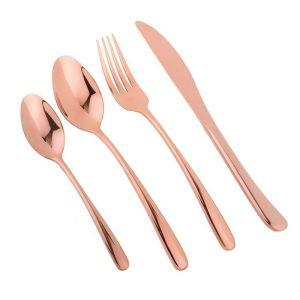 Купить Набор столовых приборов Арти М 495-5005 на 1 персону (4 предмета) цвет золото