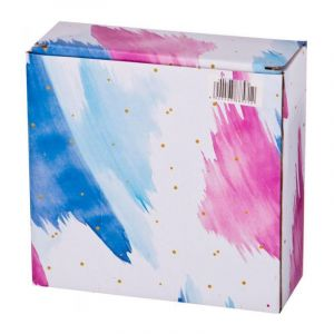 Купить Салатник Арти М 388-572 Колор де Аква 13,5*13,5*4,5 см цвет синий