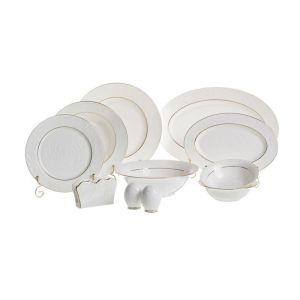 Купить Столовый набор Арти М 264-308 Blanco на 6 персон (26 предметов) цвет белый/золотой