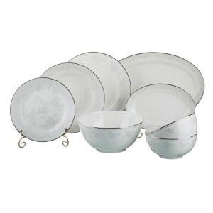 Купить Столовый набор Арти М 440-185 Гринвич на 6 персон (23 предмета) цвет белый/серебро