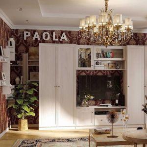 Купить Шкаф навесной ГМФ ШН4 Paola цвет ясень анкор светлый