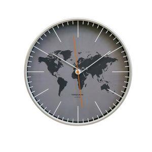 Купить Настенные часы Авангард Тройка 77777733 цвет серый