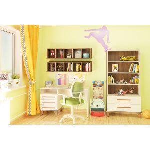 Купить Детская АСМ-Модуль Юниор цвет слива валис/лен