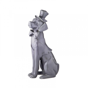 Купить Статуэтка Арти М 101-1121 Собака 38 см цвет серый