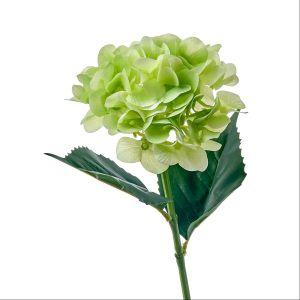 Купить Цветок искусственный MYBLUMM 0137 Гортензия микс силиконовая цвет зелёный