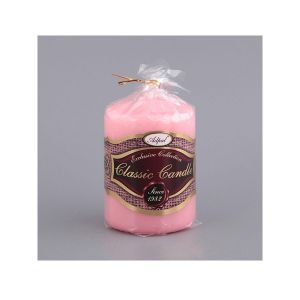 Купить Свеча Арти М 348-389 10*7 см цвет нежно-розовый