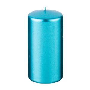 Купить Свеча Арти М 348-610 12/5,8 см цвет металлик лазурный