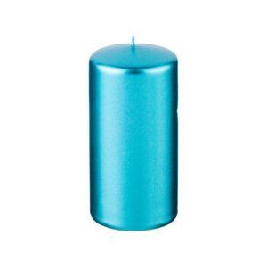 Купить Свеча Арти М 348-617 15/5,8 см цвет металлик лазурный
