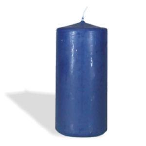 Купить Свеча Европак Трейд 13083 200*70 мм цвет синий