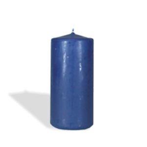 Купить Свеча Европак Трейд 13584 130*60 мм цвет синий