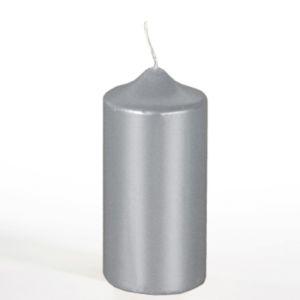 Купить Свеча Европак Трейд 13669 60*130 мм цвет серебристый