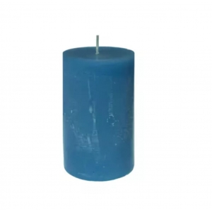 Купить Свеча Европак Трейд 15355 70*100 мм цвет рустика синий