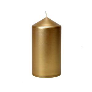 Купить Свеча Европак Трейд 502652 50*100 мм цвет золото