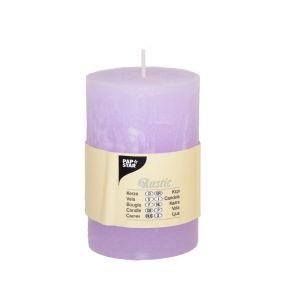 Купить Свеча Европак Трейд 84656 70*100 мм цвет рустика лиловый