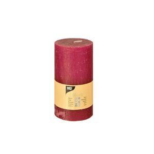 Купить Свеча Европак Трейд 84686 70*130 мм цвет рустика малиновый