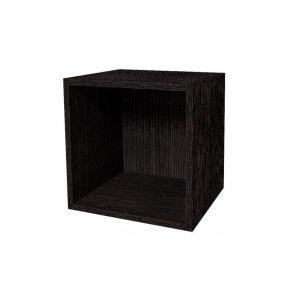 Купить Тумба прикроватная ГМФ Куб 1 Hyper цвет венге
