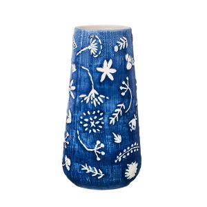 Купить Ваза Арти М 536-231 20 см цвет синий/белый