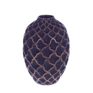 Купить Ваза РЕМЕКО 266070 для искусственных цветов 30 см цвет синий