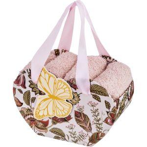 Купить Набор салфеток Арти М 813-082 (4 шт.) 30*30 см цвет коричневый