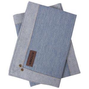 Купить Салфетка АРИЯ Kitchen Line 33*48 Vourla цвет тёмно-голубой