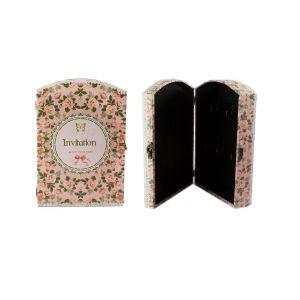 Купить Ключница Русские подарки 47128 29*20*7 см цвет розовый/зелёный