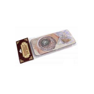 Купить Коробка для хранения Феникс-Презент 76358 Путешествие 16,6*7,6*1 см