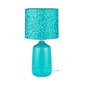 Купить Настольный светильник Арти М 134-150 с абажуром 37*20 см цвет бирюзовый