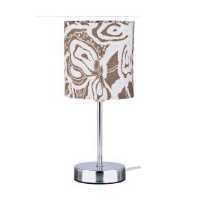 Купить Настольный светильник Арти М 134-153 с абажуром 29*13 см цвет коричневый