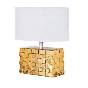 Купить Настольный светильник Арти М 134-154 с абажуром 31*23*13 см цвет золото