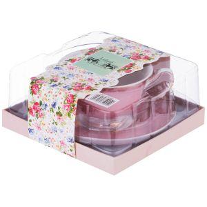 Купить Чайная пара Арти М 275-904 200 мл цвет розовый