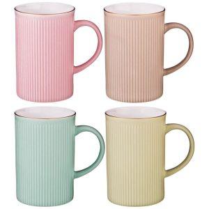 Купить Чайный набор Арти М 428-137 (4 шт.) 280 мл цвет мультиколор