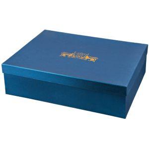 Купить Чайный набор Арти М 760-437 на 6 персон (15 предметов) цвет белый/синий