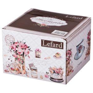 Купить Чайный набор Арти М 87-170 на 2 персоны (4 предмета) 200 мл цвет розовый/бежевый