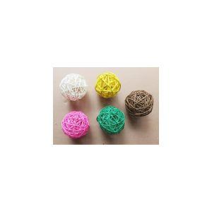 Купить Декоративное изделие РЕМЕКО 608855 Шар 10 см (3 варианта) цвет мультиколор
