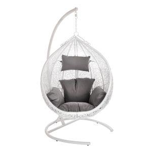 Купить Подвесное кресло ЭкоДизайн Y0069 Orion цвет белый