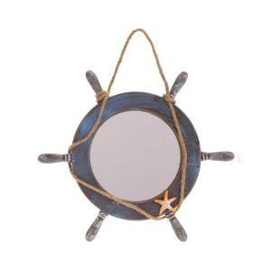 Купить Зеркало РЕМЕКО 726151 37*37*3 см цвет синий