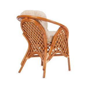Купить Кресло ЭкоДизайн Melang 1305 В цвет коньяк