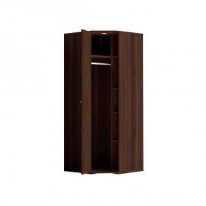 Купить Шкаф угловой ГМФ ШУ10 с зеркалом Шерлок цвет орех шоколадный