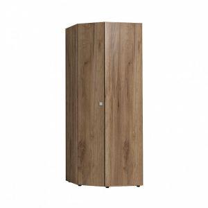 Купить Шкаф угловой ГМФ ШУ156 Neo цвет дуб табачный craft/черный