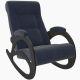 Кресло-качалка Мебель Импэкс Комфорт м.4 цвет венге/без лозы/verona denim blue
