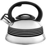 Чайник на плиту WEBBER BE-0523 цвет нержавеющая сталь