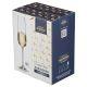 Набор бокалов Арти М 669-179 для шампанского (6 шт.) Amundsen/Ardea 220 мл 26,5 см цвет прозрачный