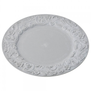 Купить Тарелка Арти М 505-077 подстановочная цвет серый