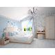 Кровать Комфорт-S М9 160*200 с подъемным механизмом Богуслава цвет дуб баррик светлый/крем брюле