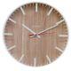Настенные часы Авангард 77771746 цвет дерево/белый