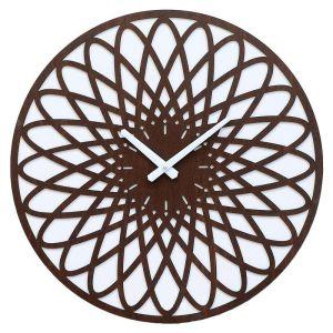 Купить Настенные часы Авангард HR 13-19 50*50 цвет белый/коричневый
