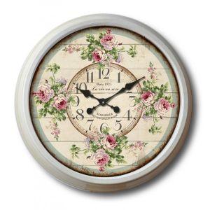 Купить Настенные часы РЕМЕКО 232549 Время 70 см цвет серый/зелёный/розовый
