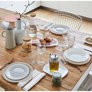 Купить Тарелка s3 Bormioli Rocco Ceramic Beige подстановочная 26,8 см цвет бежевый/белый